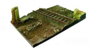 Vallejo SC104 Droga z odcinkiem kolejowym 31x21cm - skala 1-35