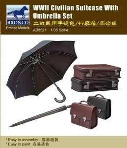 Walizki i parasole WWII Bronco 3521