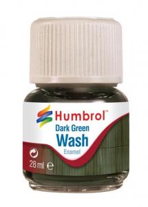 Wash emalia Dark Green 28ml Humbrol AV0203