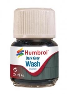 Wash emalia Dark Grey 28ml Humbrol AV0204