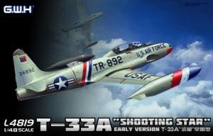 Wczesna wersja samolotu T-33A Lion Roar L4819