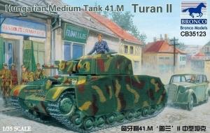 Węgierski czołg średni 41.M Turan II Bronco CB35123