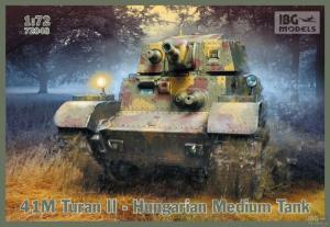 Węgierski czołg średni 41M Turan II model IBG 72048