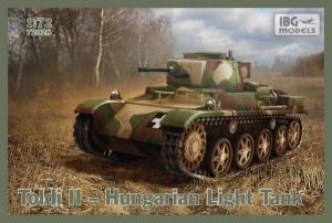 Węgierski czołg lekki Toldi II model IBG 72028