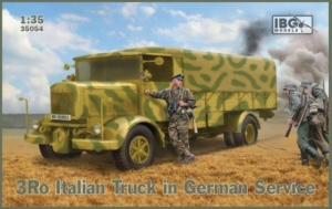 Wojskowa ciężarówka 3Ro IBG 35054 skala 1-35