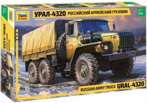 Wojskowa ciężarówka Ural 4320 Zvezda 3654