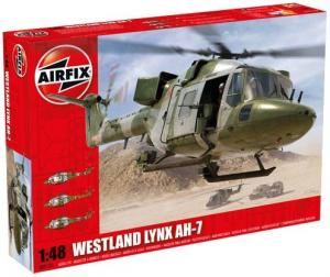 Wojskowy helikopter Westland Lynx Army AH-7 Airfix 09101