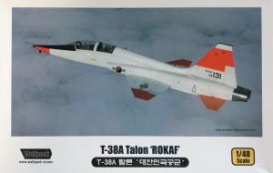 Wolfpack WP10003 samolot T-38A Talon Rokaf model 1-48