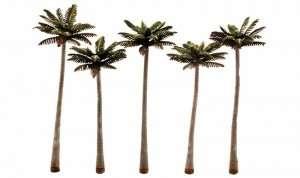 Woodland TR3598 Drzewa - palmy 5 szt