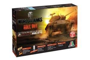 World of Tanks Italeri WOT tank M24 Chaffee - 36504