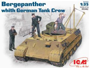 Wóz wspracia technicznego Bergepanther z załogą ICM 35342