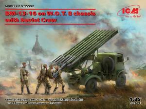 Wyrzutnia BM-13-16 na podwoziu WOT model ICM 35592