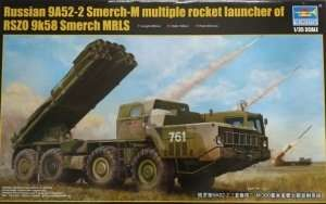 Wyrzutnia BM-30 Smerch Trumpeter 01020