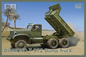 Wywrotka Diamond T 972 model IBG 72021 Dump Truck