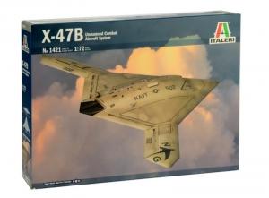 X-47B model w skali 1-72 Italeri 1421