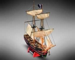 Żaglowiec Captain Morgan - Mamoli MM05 - drewniany model w skali 1-135
