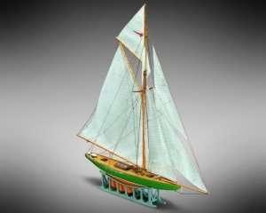 Żaglówka Shamrock Mamoli MM63 drewniany model 1-170