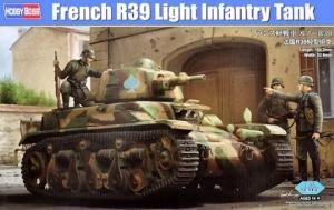 Zdobyczny czołg lekki R39-Pz.Kpfw 35R(f) Hobby Boss 83893