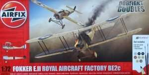 Zestaw - Fokker EII/BE2C Dogfight Double Airfix A50177