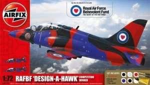 Zestaw - RAFBF Hawk Design a Hawk Airfix A50140