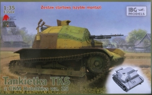 Zestaw startowy Tankietka TKS z CKM Hotchkiss IBG E3504
