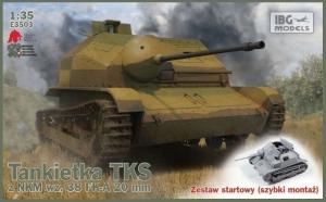 Zestaw startowy Tankietka TKS z NKM wz.38 IBG E3503