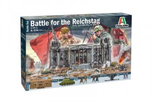 Zestaw bitewny Bitwa o Reichstag 1945 Italeri 6195