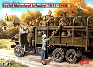 Zestaw figurek piechoty zmechanizowanej ICM 35635