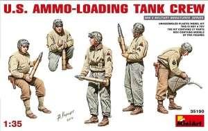 Zestaw figurek do sklejania MiniArt 35190 amerykańscy czołgiści