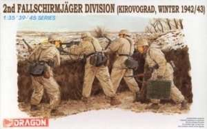 Zestaw figurek niemieckich spadochroniarzy Dragon 6157