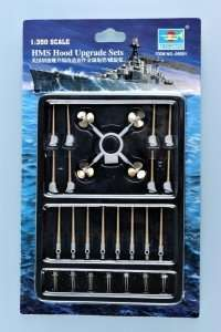 Zestaw metalowych dodatków do HMS Hood 1-350 Trumpeter 06601