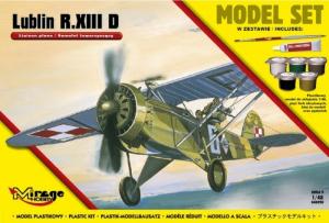 Zestaw modelarski polski samolot Lublin R.XIII D 848093