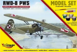 Zestaw modelarski polski samolot RWD-8 PWS 848092