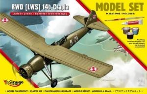 Zestaw modelarski polski samolot RWD LWS 14b Czapla 872061