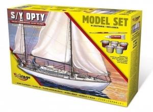 Zestaw modelarski polski jacht kilowy S/Y Opty 850093