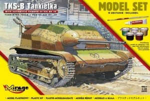 Zestaw modelarski polski lekki czołg TKS-B Tankietka 835093