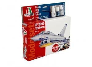 Zestaw modelarski samolot EF-2000 Typhoon Italeri 72001