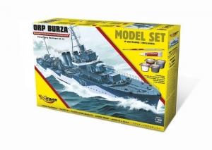 Zestaw modelarski ORP Burza Wz.44 niszczyciel 840094
