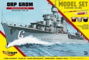 Zestaw modelarski ORP Grom Wz.38 niszczyciel 840093