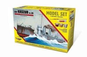 Zestaw modelarski ORP Kaszub Wz.25 torpedowiec 840063