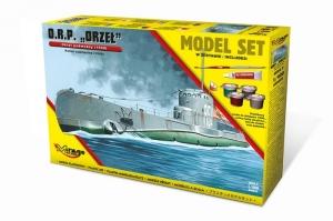 Zestaw modelarski ORP Orzeł okręt podwodny 840092