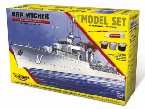 Zestaw modelarski ORP Wicher Wz.35 niszczyciel 840095