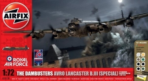 Zestaw modelarski The Dambusters Avro Lancaster B.III Airfix 50138