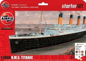 Zestaw modelarski do sklejania RMS Titanic 1:1000 Airfix 55314