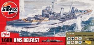 Zestaw modelarski okręt HMS Belfast Airfix A50069