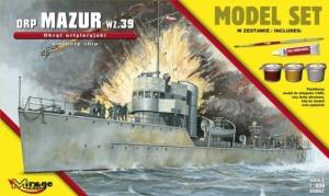 Zestaw modelarski okręt ORP Mazur wz.39 840062