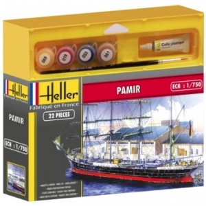 Zestaw modelarski żaglowca Pamir 1:750 Heller 49058