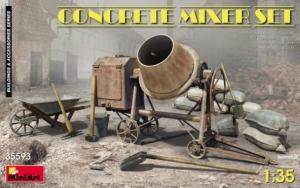 Zestaw murarski - betoniarka Miniart 35593