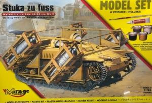 Zestaw z farbami - Stuka zu fuss wyrzutnia Ue-Swg 835098