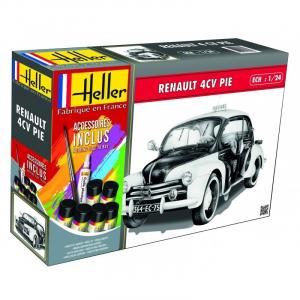 Zestaw z farbami policyjny Renault 4 CV Pie Heller 56764